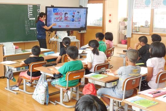 村教委「学校訪問」松田小学校  ...